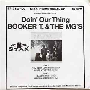 Booker T. & The MG's - Doin' Our Thing mp3