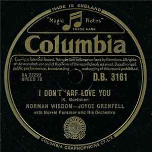 Norman Wisdom - Joyce Grenfell With Norrie Paramor And His Orchestra - I Don't 'Arf Love You / Narcissus mp3