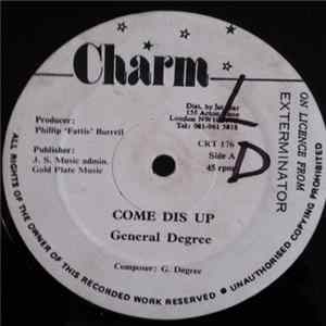General Degree - Come Dis Up mp3