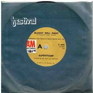 Supertramp - Bloody Well Right / Dreamer mp3